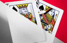 Realistic Playing Cards Mockup