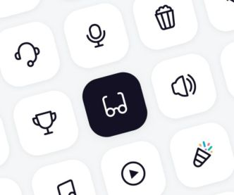 126 Minimal Stroke UI Icons For Sketch