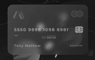 Glass Credit Card Figma Template