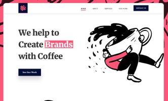 Illustration Art Agency Website Template