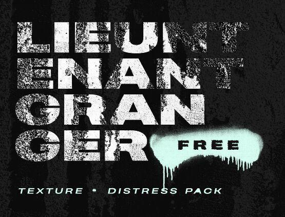 LIEUNTENANT GRANGER Texture & Distress Pack