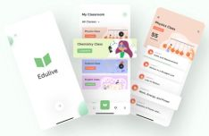 Learning App UI Design Sketch