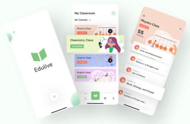 Learning App UI Design Sketch