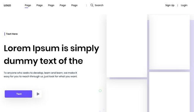 Website & Mobile App Presentation Template For Adobe XD