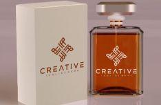3 Realistic Perfume Mockups