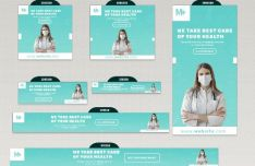 Medical Banner Templates PSD