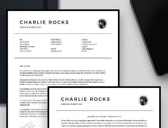 Simple_Resume Template (AI, INDD, PSD, PDF)