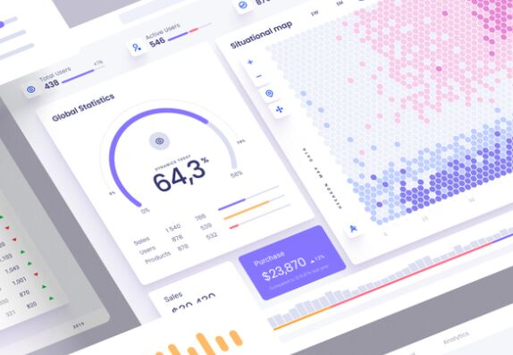 Data Visualization UI Kit Figma