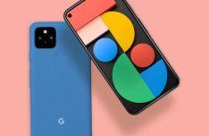Google Pixel 5 PSD Mockup