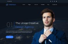 Creative Design Agency Web Template Figma