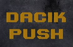 DacikPush Font