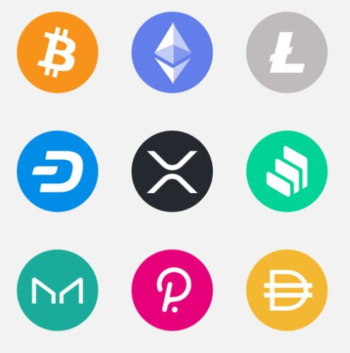 400+ Crypto Icons For Figma