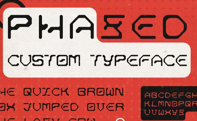 PHAZED Font