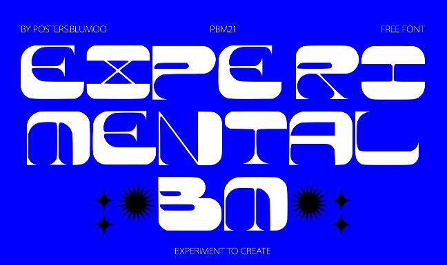 Experimental BM Font