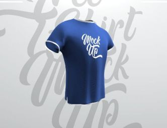 Fully Editable T-shirt PSD Mockup