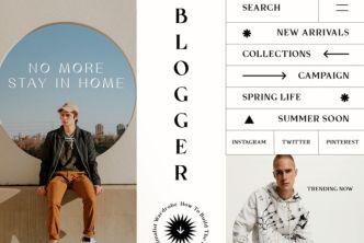 Fashion Blog Adobe XD Template