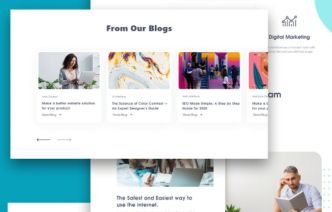 Creative Agency Web Template