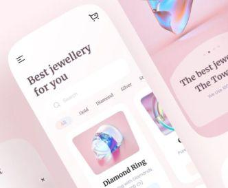 Jewellery App UI Figma