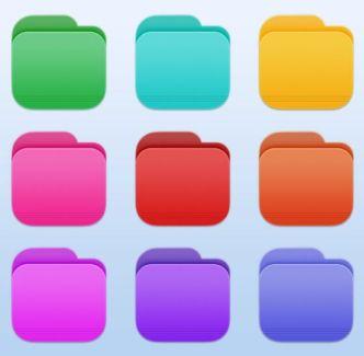 Big Sur Custom Folder Icons