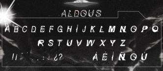Aldous Display Font