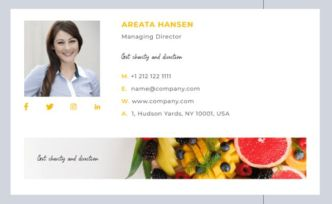 Email Signature Templages (AI & PSD)