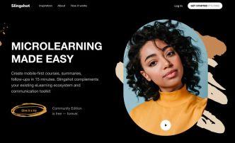 Educational Site Landing Page Design Figma