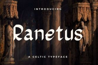 Ranetus Celtic Font