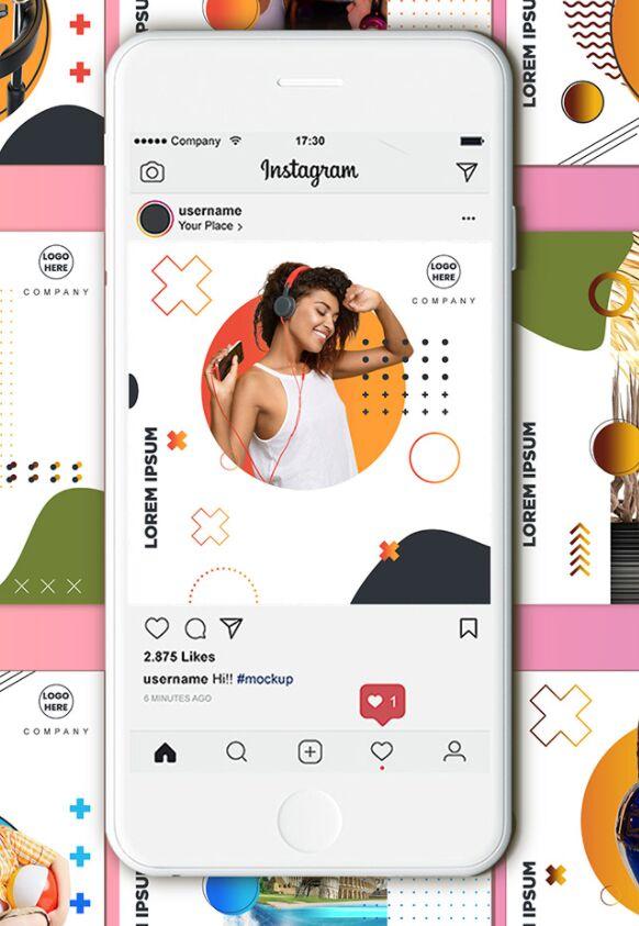 Modern Instagram Post (Ads) Templates PSD