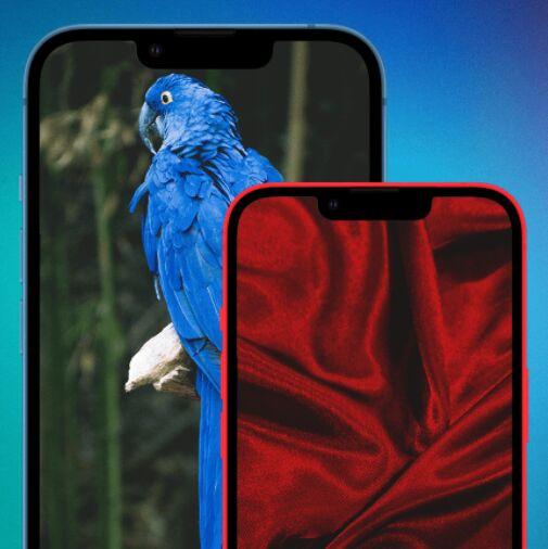 Editable iPhone 13 PSD Mockup
