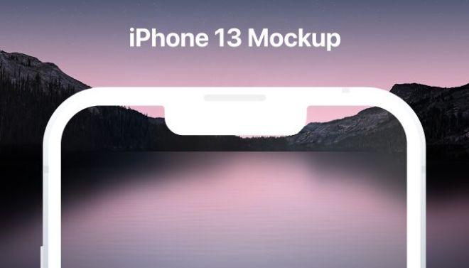 Minimal iPhone 13 Mockup Figma