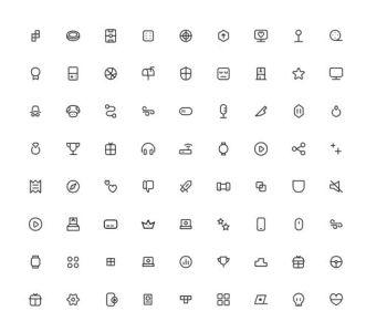 250 Gamer Life Icons Figma
