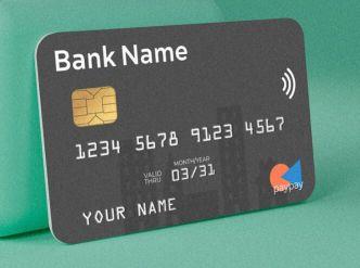 Customizable Bank Card PSD Template