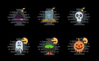 6 Creative Halloween Icons