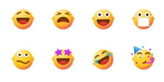 8 Funny Emoji Icons Figma