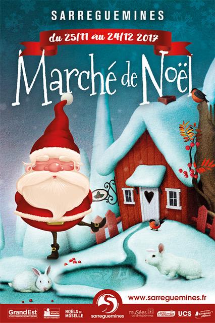 Affiche Noel 2017 - Ville de Sarreguemines