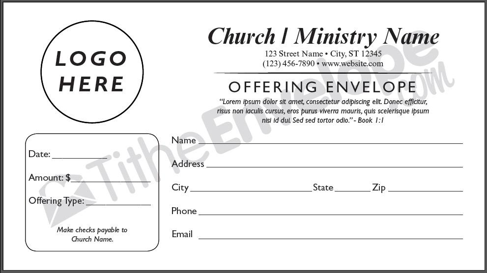 Remittance Envelopes Remittance Envelope Printing