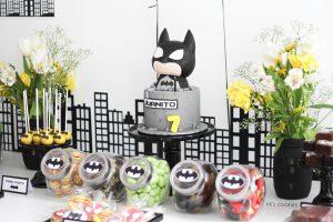 Mesa de dulces Batman y SuperHeroes