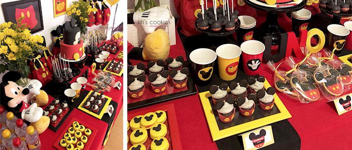 Mesa de dulces Mickey Mouse