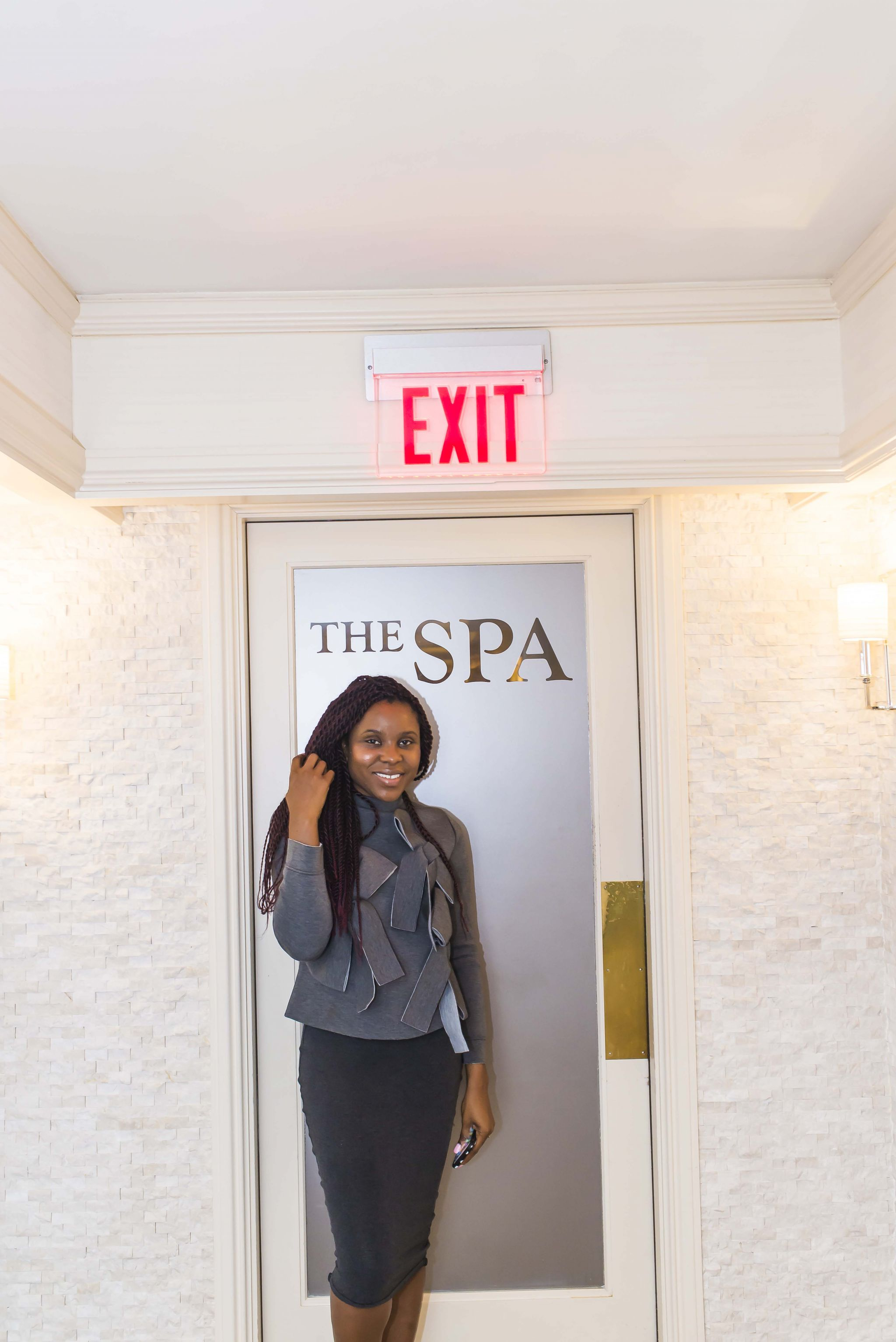 The spa at the Whitley hotel