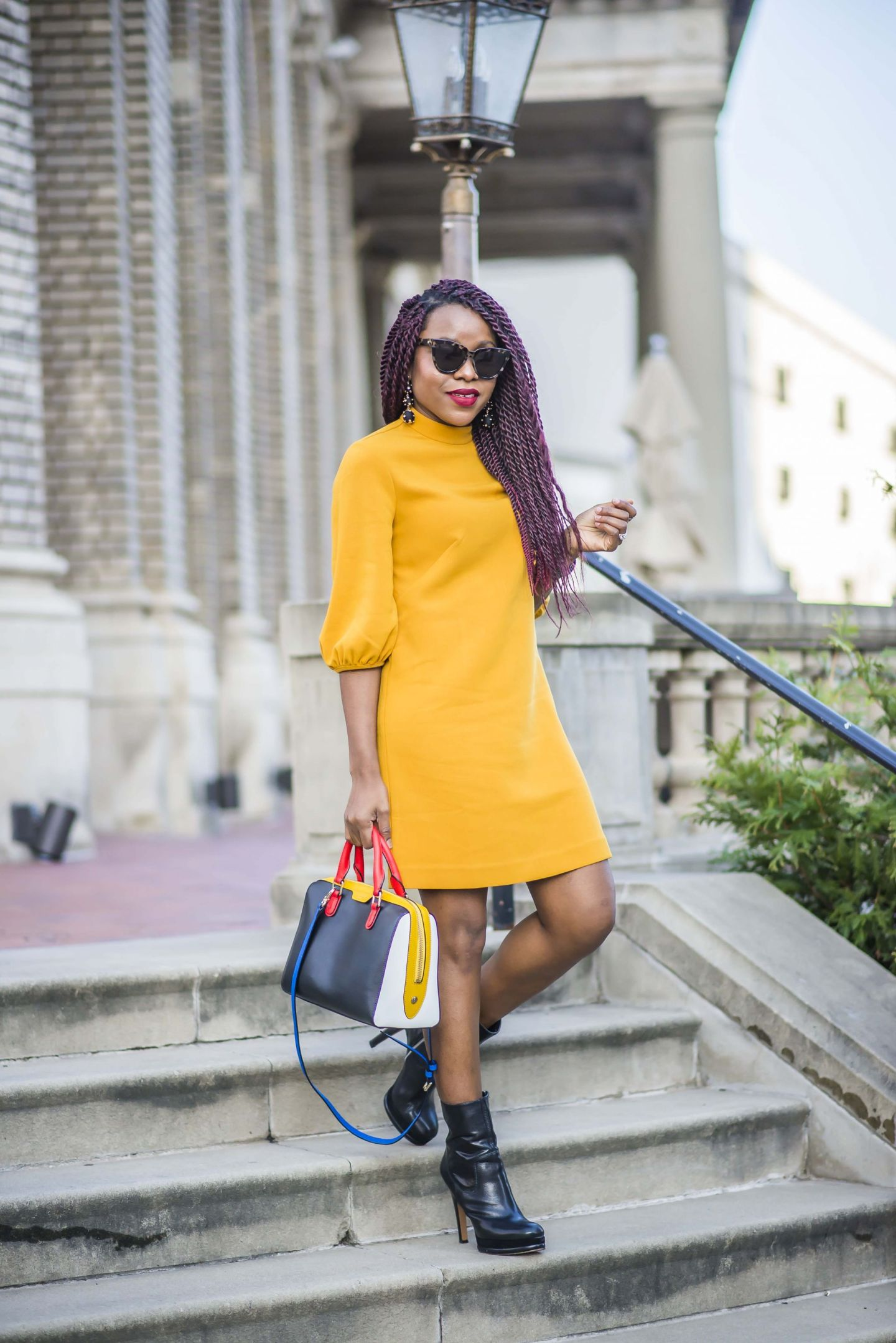 black fashion blogger