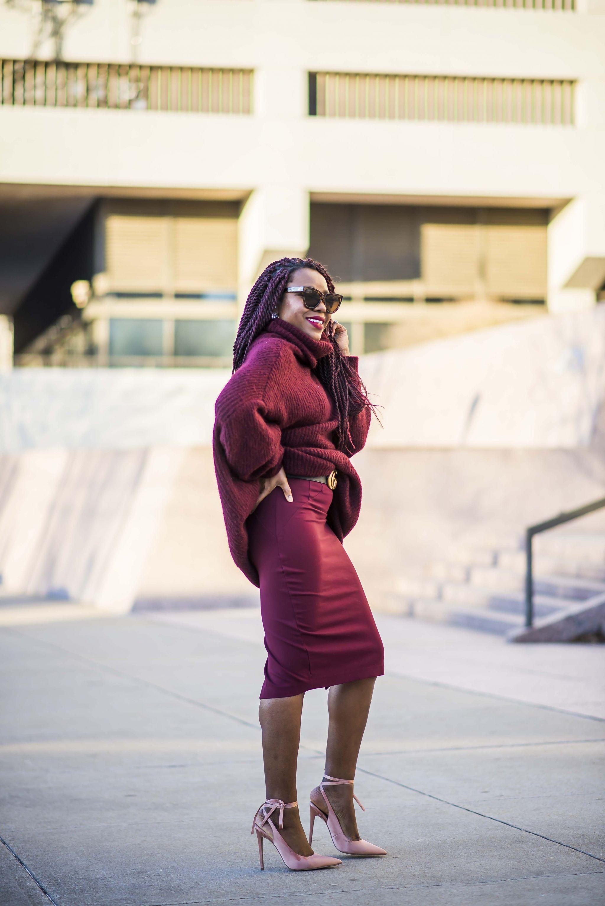 Zara chunky sweater