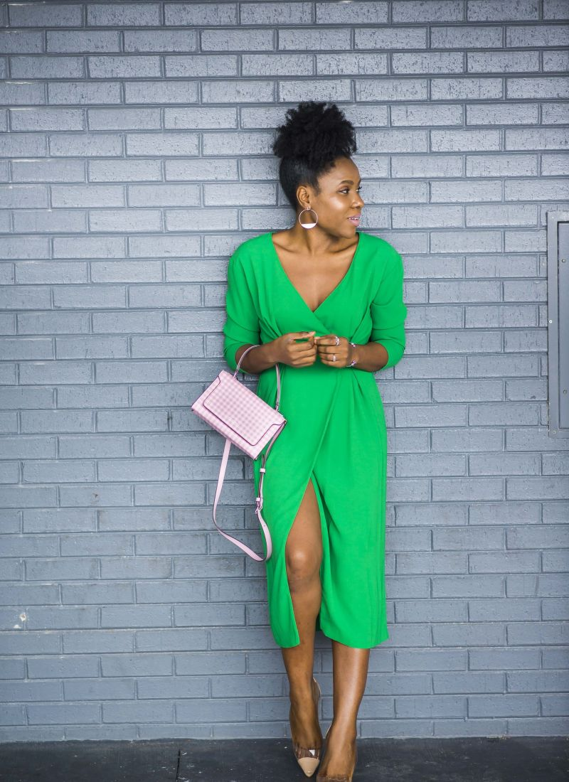 The Perfect dress and bag for Spring