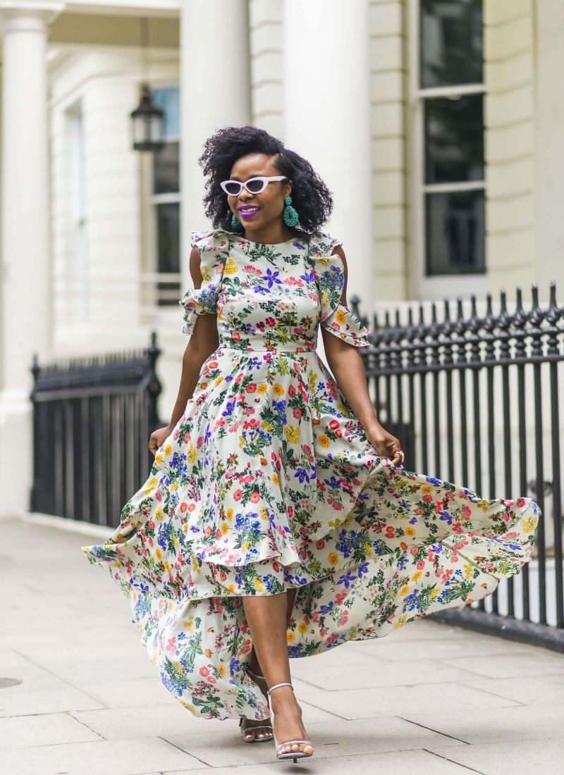 Summer Fashion: Floral Maxi Dress