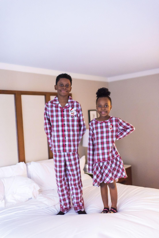 kids matching pjs