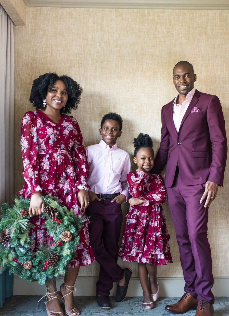 Holiday family looks for the whole family