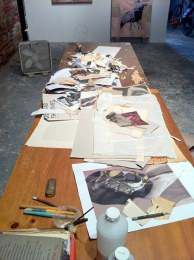 Installation Shot (Work Table)