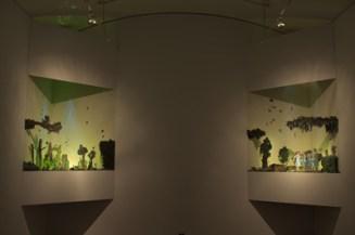 Installation view, Vault Gallery