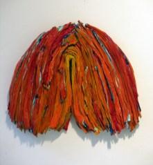 Leslie Wayne, One Big Love # 26, 2009 Oil on Wood