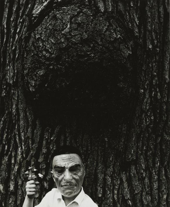 """Untitled,"" ca. 1960. © The Estate of Ralph Eugene Meatyard, Courtesy Fraenkel Gallery, San Francisco."