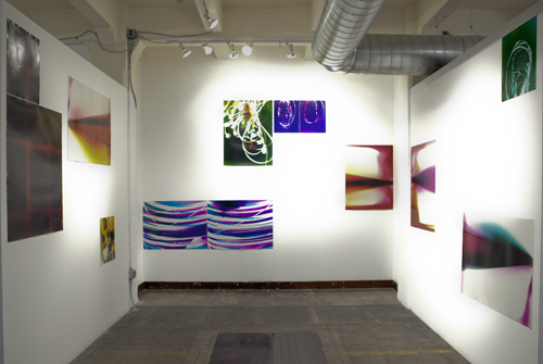installation shot, Darkstar, 2012
